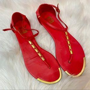 Dolce Vita Pink Thong Sandals